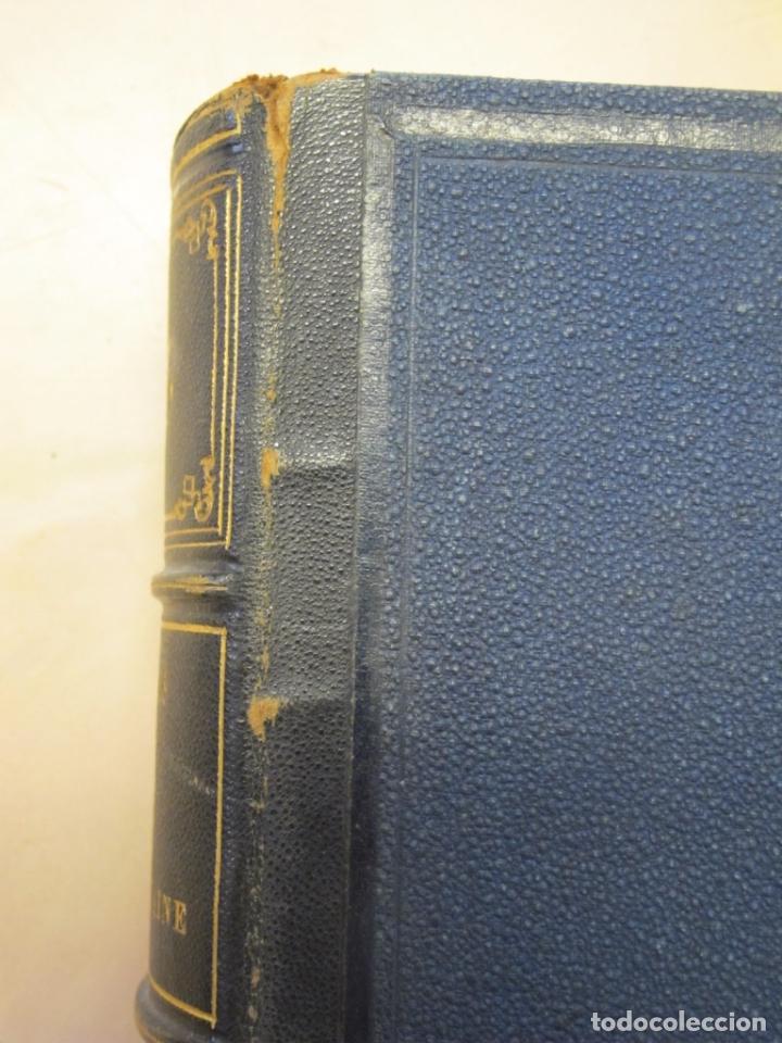Libros antiguos: Fables de La Fontaine. Illustrations par Grandeville. Paris, Garnier Frères ed. 1864 - Foto 7 - 90374492