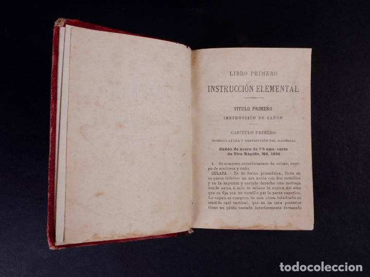 Libros antiguos: INSTRUCCIÓN TÁCTICA DE LAS TROPAS DE ARTILLERÍA DE MONTAÑA 1902 - Foto 3 - 90411094