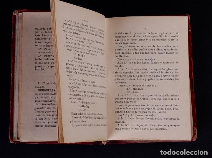 Libros antiguos: INSTRUCCIÓN TÁCTICA DE LAS TROPAS DE ARTILLERÍA DE MONTAÑA 1902 - Foto 4 - 90411094