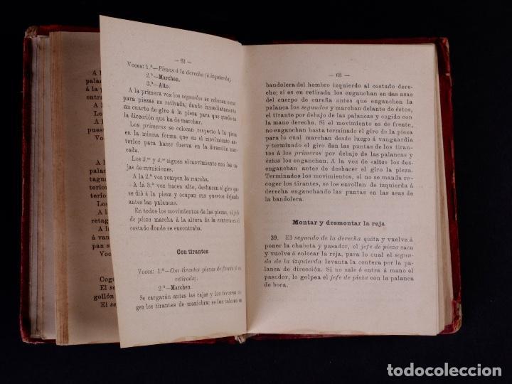 Libros antiguos: INSTRUCCIÓN TÁCTICA DE LAS TROPAS DE ARTILLERÍA DE MONTAÑA 1902 - Foto 5 - 90411094