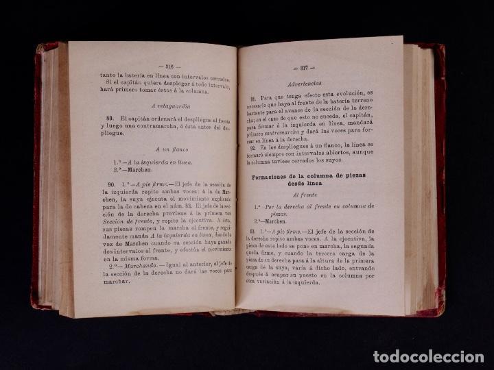Libros antiguos: INSTRUCCIÓN TÁCTICA DE LAS TROPAS DE ARTILLERÍA DE MONTAÑA 1902 - Foto 6 - 90411094