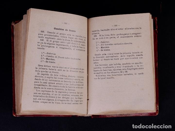 Libros antiguos: INSTRUCCIÓN TÁCTICA DE LAS TROPAS DE ARTILLERÍA DE MONTAÑA 1902 - Foto 10 - 90411094