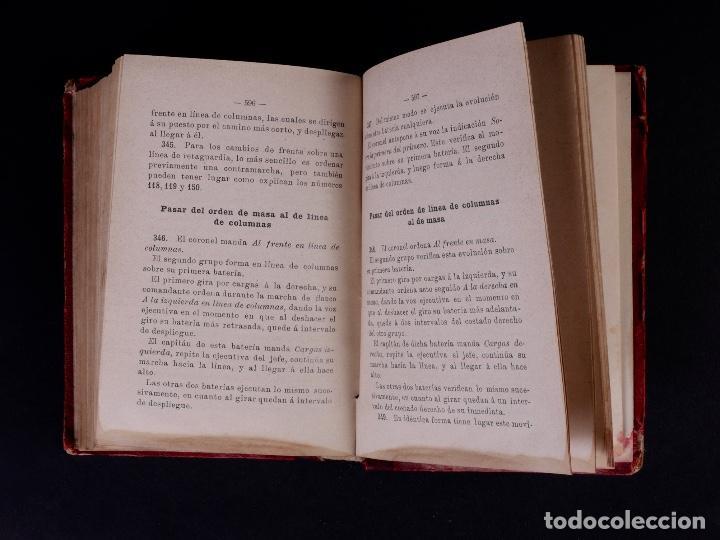Libros antiguos: INSTRUCCIÓN TÁCTICA DE LAS TROPAS DE ARTILLERÍA DE MONTAÑA 1902 - Foto 11 - 90411094