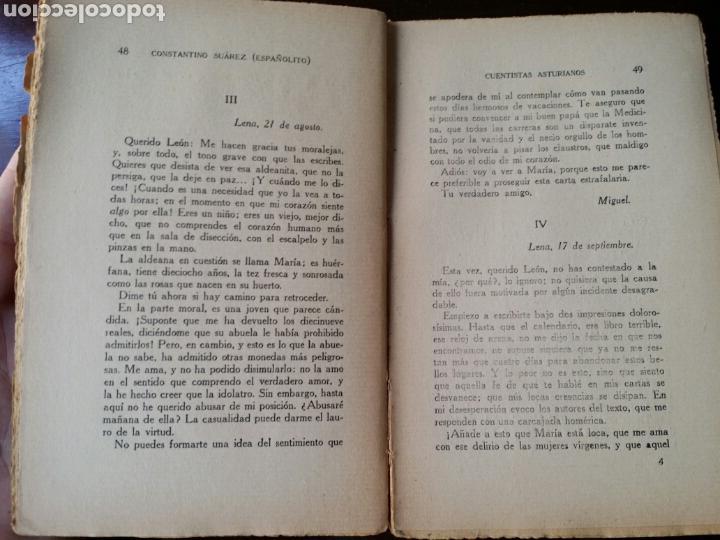 Libros antiguos: CUENTISTAS ASTURIANOS CONSTANTINO SUÁREZ ESPAÑOLITO 1930 PRIMERA EDICION - Foto 4 - 108687479