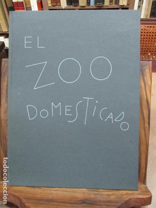 Libros antiguos: EL ZOO DOMESTICADO DOCE POEMAS DE PAUL STEINBERG ILUSTR. PORTA-MISSÉ. 1 DIBUJO ORIGINAL. - Foto 2 - 90441414