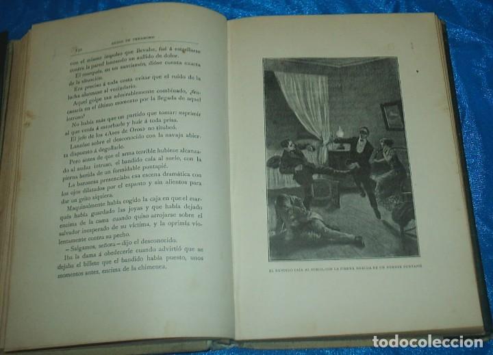Libros antiguos: EL HOMBRE FANTASMA, MONTANER 1910, CON GUARDAS, 320 PG. LIBRO MUY BUEN ESTADO-IMPORTANTE LEER TODO - Foto 6 - 90451489