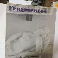 Libros antiguos: REVISTA DE ARTE FRAGMENTOS, Nº 11. 1987. MADRID 1987. Lote 90509815