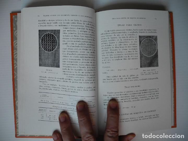 Libros antiguos: Tejidos de algodón. John Hoye. Ed. Gustavo Gili. 1952 - Foto 3 - 90557030