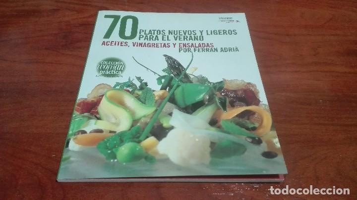PLATOS PARA VERANO POR FERRAN ADRIÀ (Libros Antiguos, Raros y Curiosos - Cocina y Gastronomía)