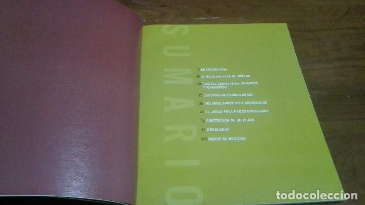Libros antiguos: Platos para verano por ferran adrià - Foto 2 - 90655900
