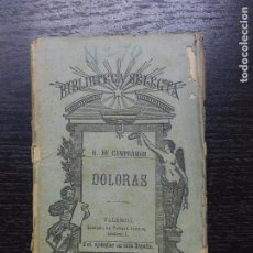 Old books - DOLORAS, CAMPOAMOR, RAMON DE, 1883 - 90716685