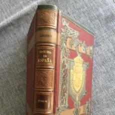 Libros antiguos: HISTORIA GENERAL DE ESPAÑA. BAJA EDAD MEDIA. SIGLO XV. TOMO 6º. MODESTO LAFUENTE.. Lote 90797400