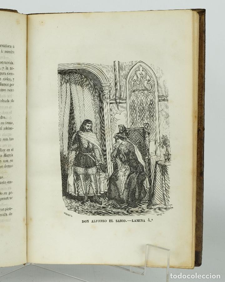 Libros antiguos: D.Alfonso el sabio ó el hijo de Fernando-E.Castelar y F.de Paula Canalejas-1853 - Foto 5 - 90821030