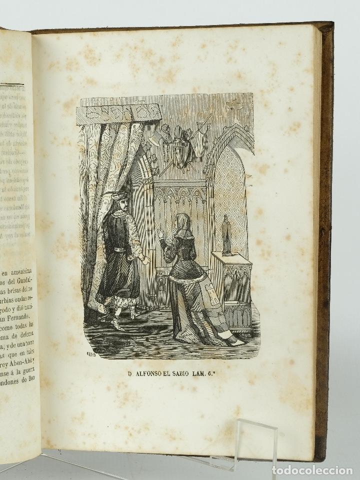 Libros antiguos: D.Alfonso el sabio ó el hijo de Fernando-E.Castelar y F.de Paula Canalejas-1853 - Foto 6 - 90821030
