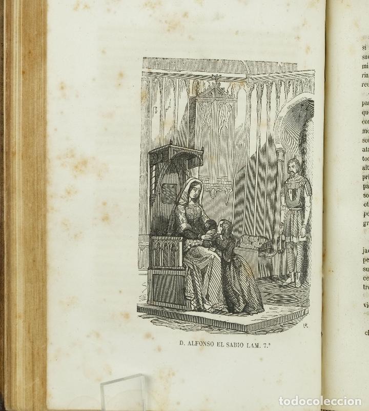 Libros antiguos: D.Alfonso el sabio ó el hijo de Fernando-E.Castelar y F.de Paula Canalejas-1853 - Foto 7 - 90821030