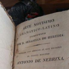 Libros antiguos: GRAMATICA SEBASTIÁN DE HEREDIA. Lote 90887994