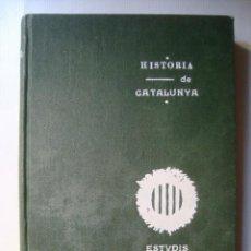 Libros antiguos: HISTÒRIA DE CATALUNYA. SEGON TOM II - ASSOCIACIÓ DE LECTURA CATALANA (ESTUDIS, 1906). BON ESTAT.. Lote 90942910