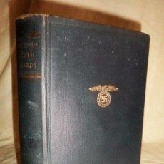 Libros antiguos: MEIN KAMPF - ADOLF HITLER - AÑO 1939 - EDICION ORIGINAL ALEMAN.. Lote 91014860