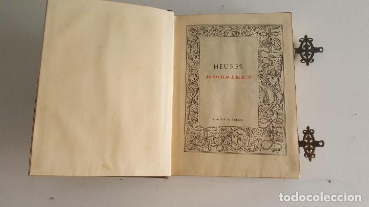 Libros antiguos: Horas romanas con las figuras de A. Queroy grabado por A. Gusman - Foto 7 - 91016875