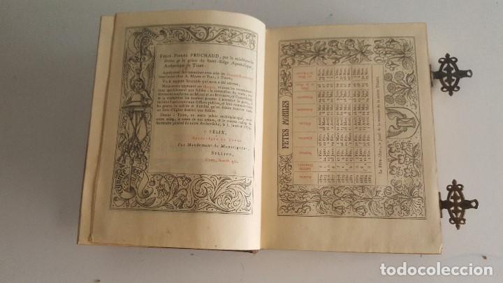 Libros antiguos: Horas romanas con las figuras de A. Queroy grabado por A. Gusman - Foto 9 - 91016875