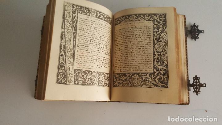 Libros antiguos: Horas romanas con las figuras de A. Queroy grabado por A. Gusman - Foto 10 - 91016875