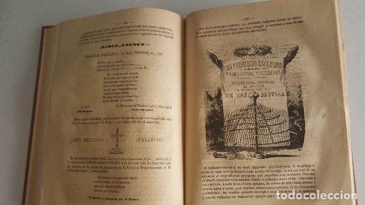 Libros antiguos: EL CARNAVAL DE BARCELONA EN 1860. ..CLAVÉ, J. A. y TORRES, J. M. -1860. - Foto 5 - 91026070