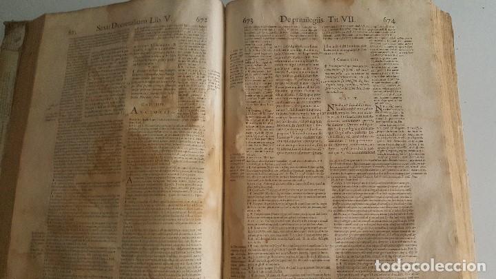 Libros antiguos: Liber sextus Decretalium D. Bonifacij Papae VIII -1613 - Foto 6 - 91026505