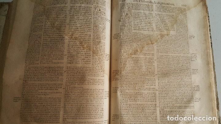 Libros antiguos: Liber sextus Decretalium D. Bonifacij Papae VIII -1613 - Foto 9 - 91026505