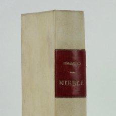 Libros antiguos: NIEBLA-MIGUEL DE UNAMUNO-ED. RENACIMIENTO, MADRID-SEGUNDA EDICIÓN S/F. Lote 91060075