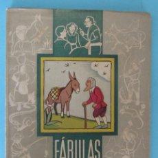 Libros antiguos: FÁBULAS DE LA FONTAINE. DALMAU CARLES PLA. GERONA MADRID, SIN FECHA.. Lote 91095070