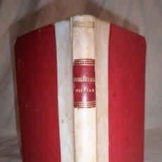 Libros antiguos: RUSIA Y TURQUIA·APUNTES HISTORICO MILITARES - AÑO 1877 - MAPA - MUY RARO.. Lote 91301005
