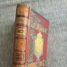 Libros antiguos: HISTORIA GENERAL DE ESPAÑA. 1809-1814. TOMO 17º. MODESTO LAFUENTE.. Lote 91332420