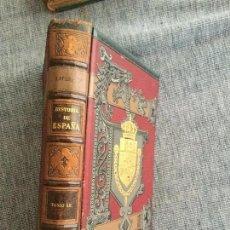 Libros antiguos: HISTORIA GENERAL DE ESPAÑA, DOMINACIÓN DE LA CASA DE BORBÓN, 1814-1822. TOMO 18º. MODESTO LAFUENTE.. Lote 91332825