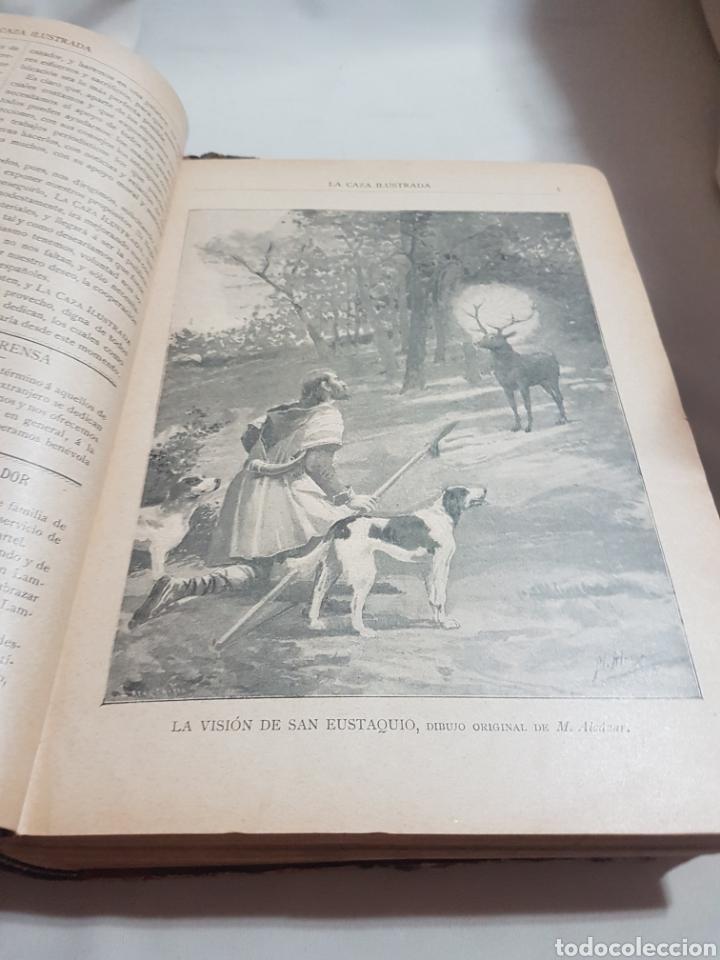 Libros antiguos: 3 tomos Revista la caza ilustrada núm 1 . 2 . 3 . 2° edición año 1899 . 1900-901 . 1902-903 - Foto 2 - 91336119