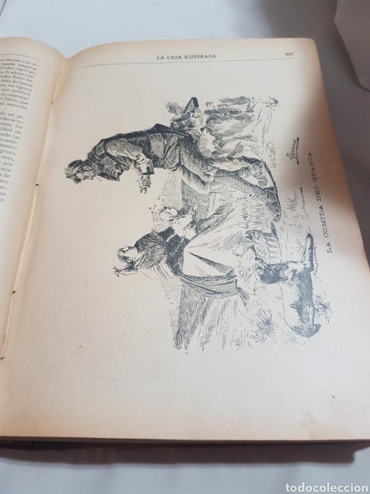 Libros antiguos: 3 tomos Revista la caza ilustrada núm 1 . 2 . 3 . 2° edición año 1899 . 1900-901 . 1902-903 - Foto 4 - 91336119