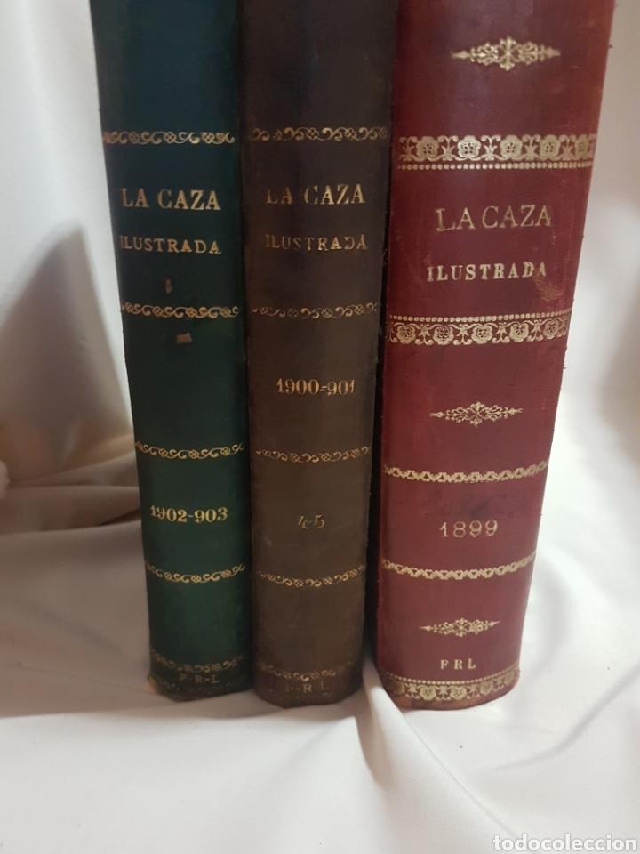 Libros antiguos: 3 tomos Revista la caza ilustrada núm 1 . 2 . 3 . 2° edición año 1899 . 1900-901 . 1902-903 - Foto 22 - 91336119