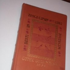 Libros antiguos: FACSIMIL BEATO DE GERONA. EDITORIAL EDILAN, LIBRO DE ESTUDIOS DE LA EDITORIAL MOLEIRO. Lote 78236029