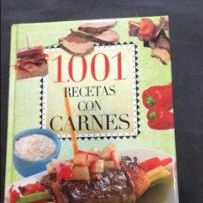 Libros antiguos: 1001 RECETAS CON CARNES. Lote 91390670
