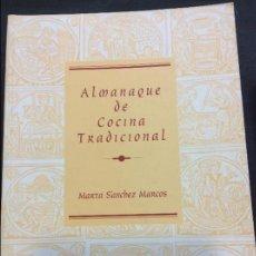 Libros antiguos: ALMANAQUE DE COCINA TRADICIONAL DE SALAMANCA. Lote 156606746