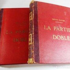 Libros antiguos: LOTE TOMO I Y II DE ESTUDIOS TEORICO-PRÁCTICOS DE CONTABILIDAD COMERCIAL TITULADOS. Lote 91430325
