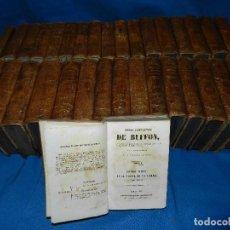 Libros antiguos: (MF) OBRAS COMPLETAS DE BUFFON , COMPLETA 35 VOLUMENES , MADRID 1847 - HISTORIA NATURAL. Lote 91440780