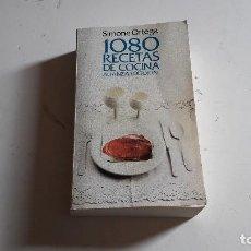 Libros antiguos: LIBRO DE COCINA...108O RECETAS DE COCINA..SIMONE ORTEGA..1991.. Lote 91442535