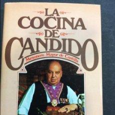 Libros antiguos: LA COCINA DE CANDIDO - PLAZA & JANES. Lote 91445735
