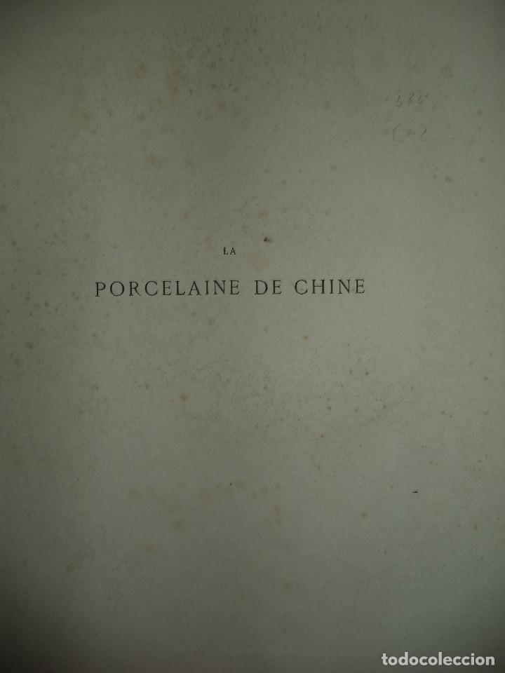 Libros antiguos: Raro Libro /guia - La Porcelaine de Chine O DU SARTEL - 1881 - Foto 2 - 91452675