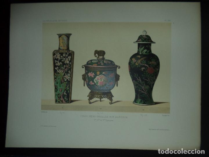 Libros antiguos: Raro Libro /guia - La Porcelaine de Chine O DU SARTEL - 1881 - Foto 4 - 91452675
