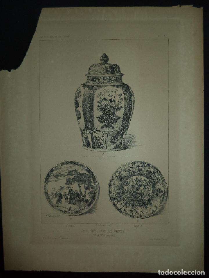 Libros antiguos: Raro Libro /guia - La Porcelaine de Chine O DU SARTEL - 1881 - Foto 5 - 91452675