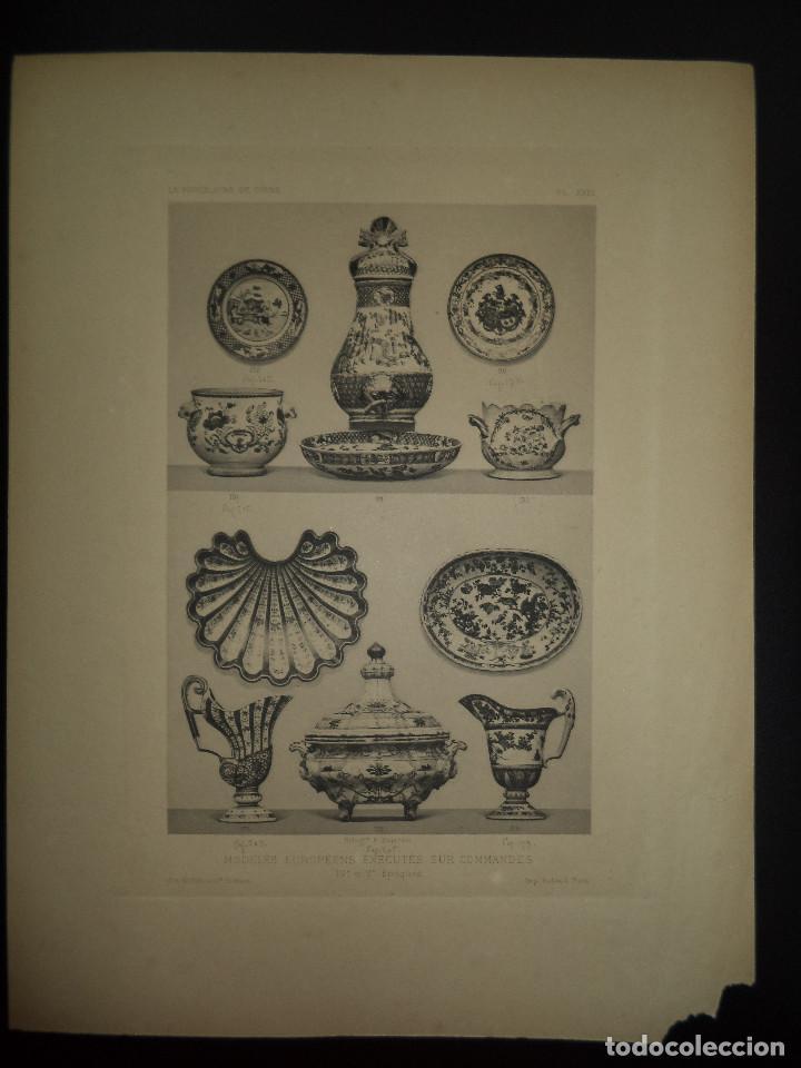 Libros antiguos: Raro Libro /guia - La Porcelaine de Chine O DU SARTEL - 1881 - Foto 6 - 91452675