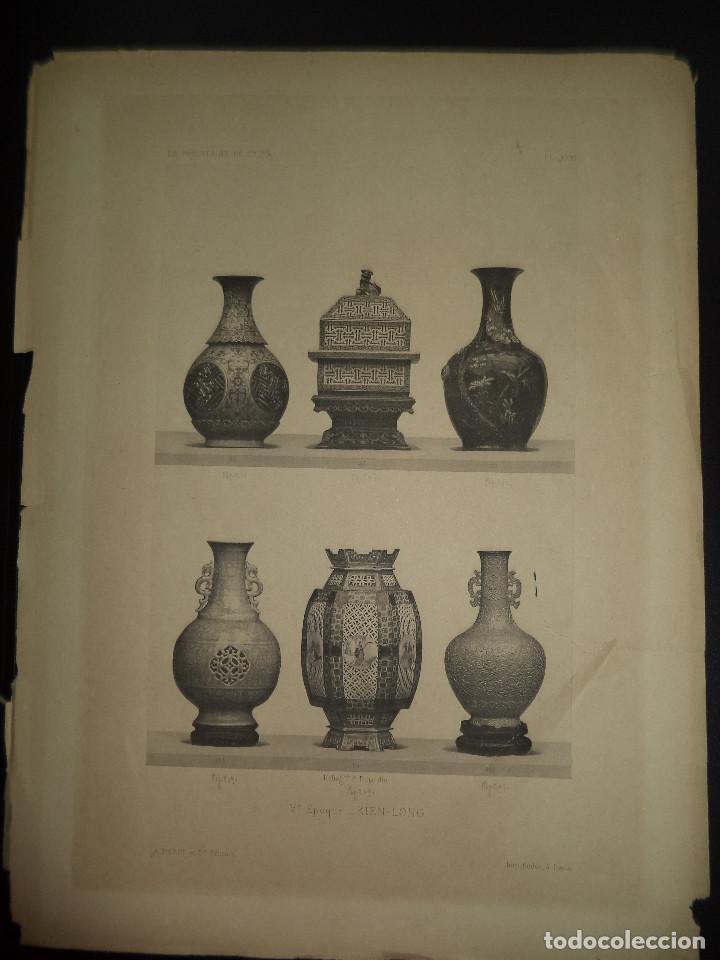 Libros antiguos: Raro Libro /guia - La Porcelaine de Chine O DU SARTEL - 1881 - Foto 7 - 91452675