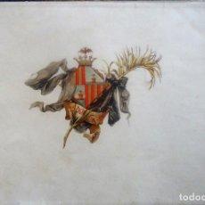 Libros antiguos: 'LIMOSNA' ALBUM DEDICADO A LOS AFLIGIDOS POR LA EXPLOSION DEL FUERTE DE SAN FERNANDO. MALLORCA 1895. Lote 91477865