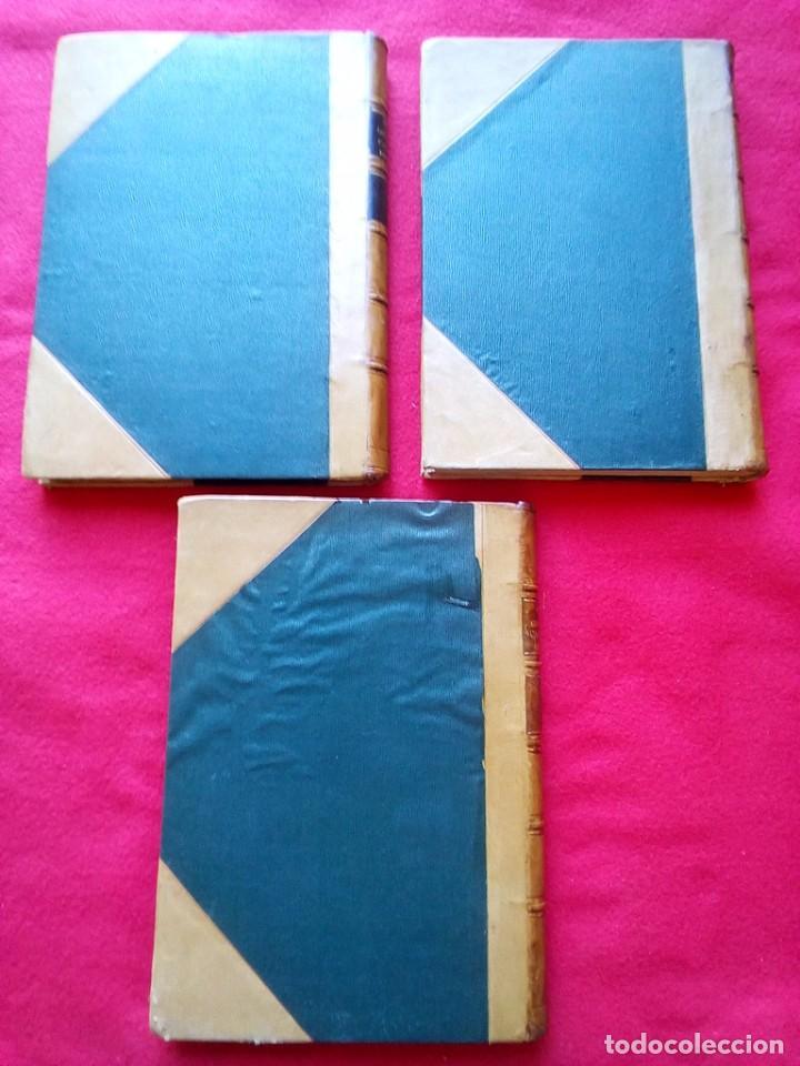 Libros antiguos: 1910 CAZA NARRACIONES DE UN MONTERO GRANDES CACERIAS ESPAÑOLAS CINEGETICA 3 TOMOS 26 CMS - Foto 13 - 91607390